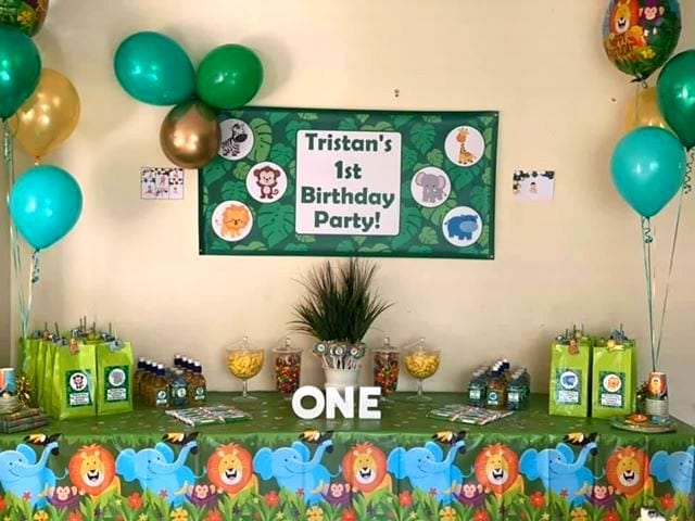 Jungle Animals Birthday Party Photos Decorations