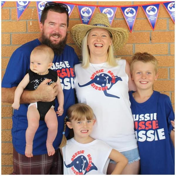 Katie J Design and Events Family Photo Australia Day