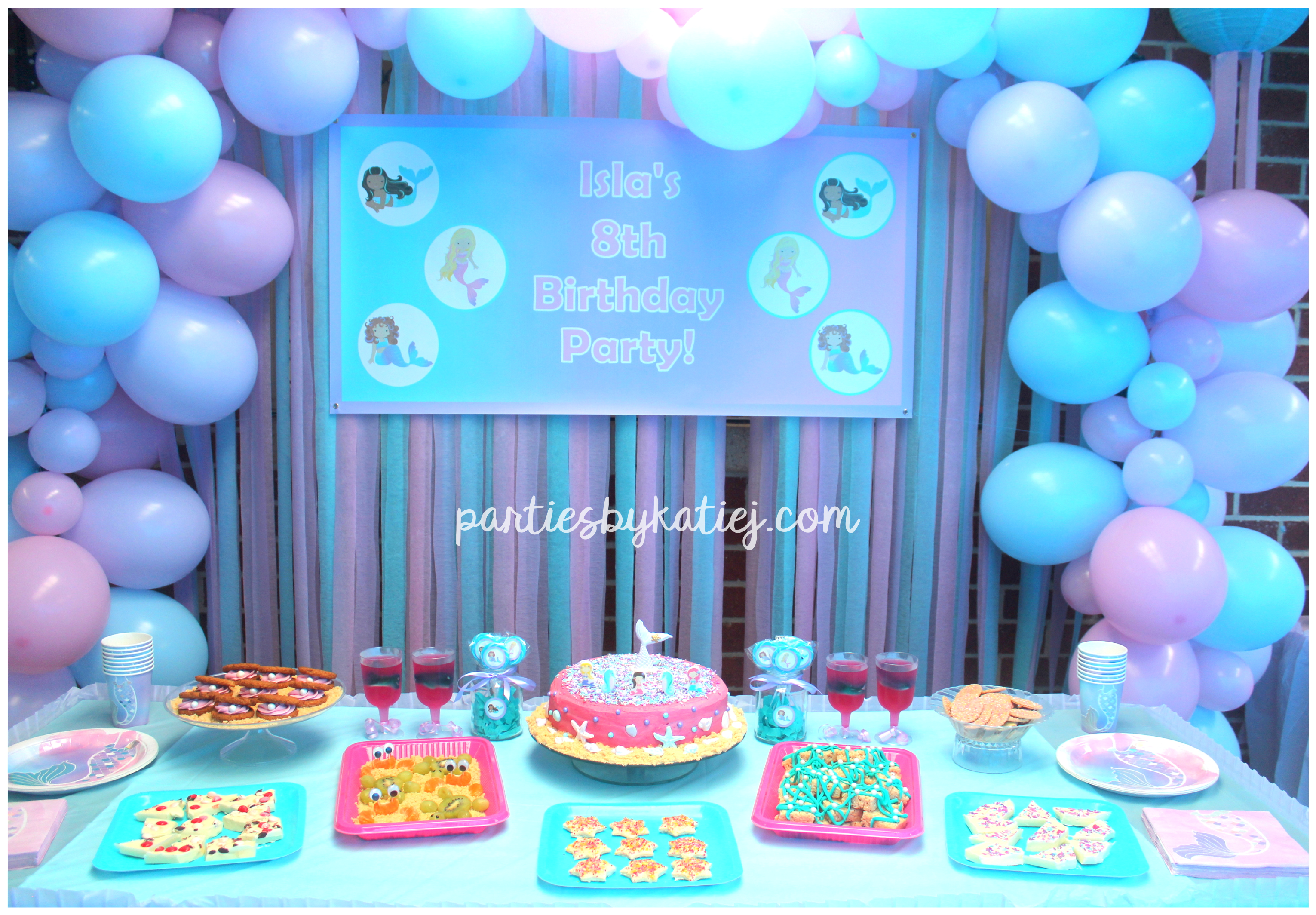 Beautiful Mermaid Birthday Party Ideas Photos