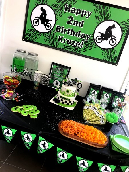 Motorbike Birthday Party