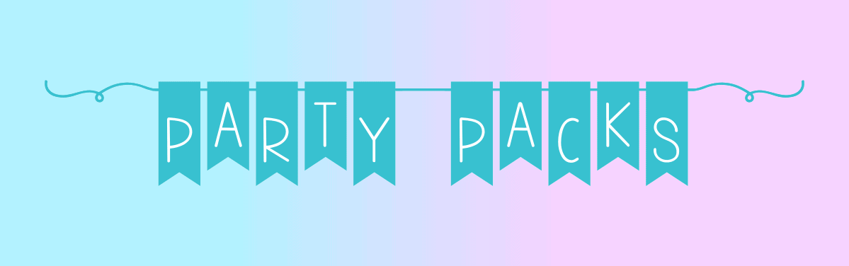 Party Packs Banner
