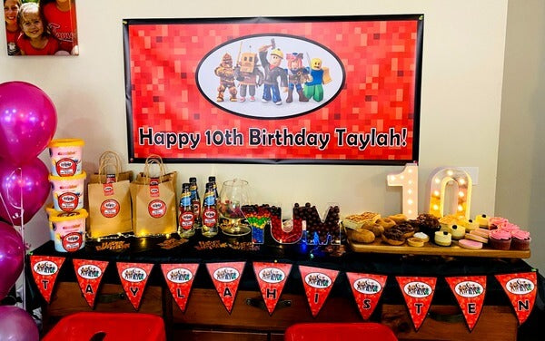 Roblox Birthday Party