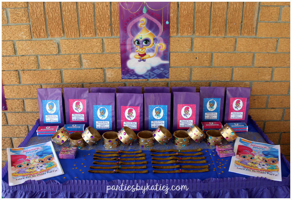 Shimmer & Shine Party Bags