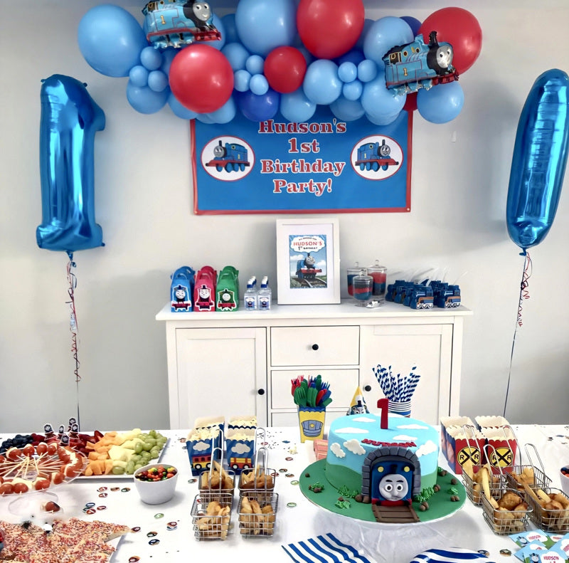 Thomas the Tank Engine Birthday Party Photos Decorations