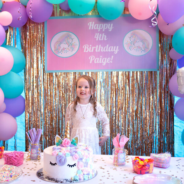 Unicorn Birthday Party Photo