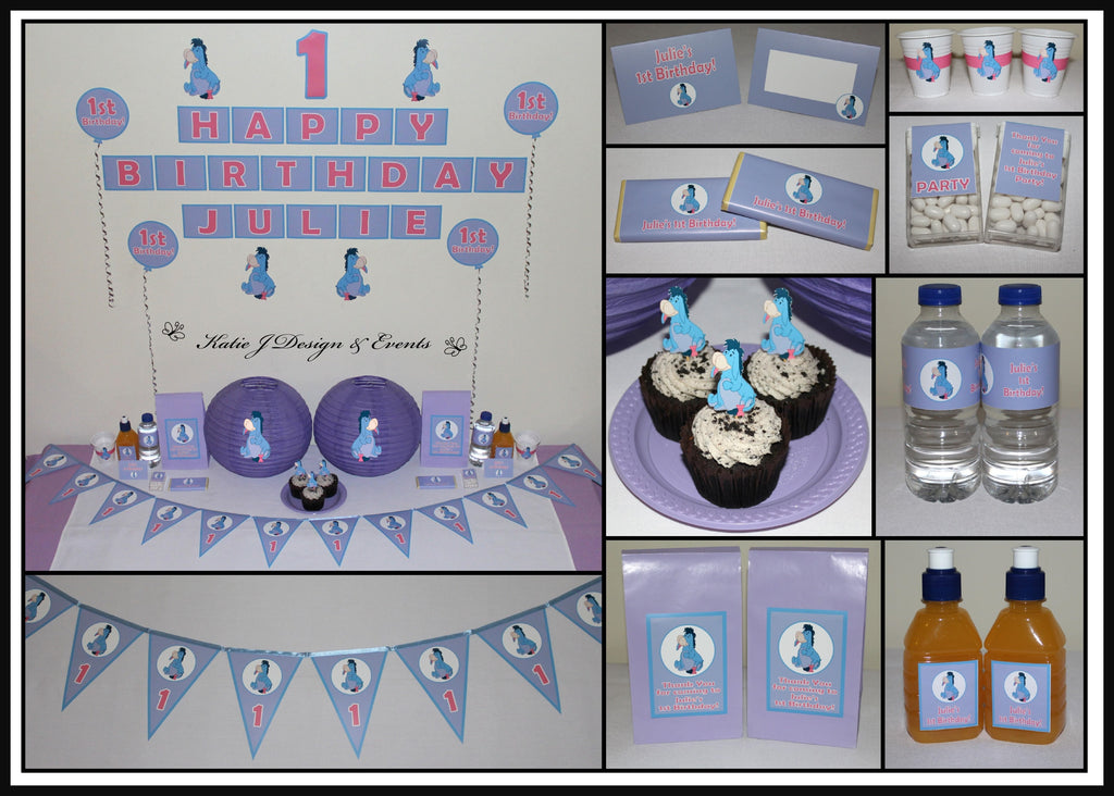 Eeyore Party Decorations and Supplies