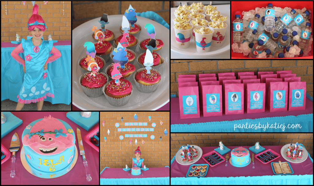 Trolls Party Ideas Photos
