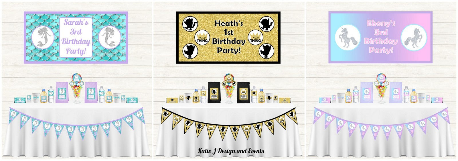 Personalised Party Decorations
