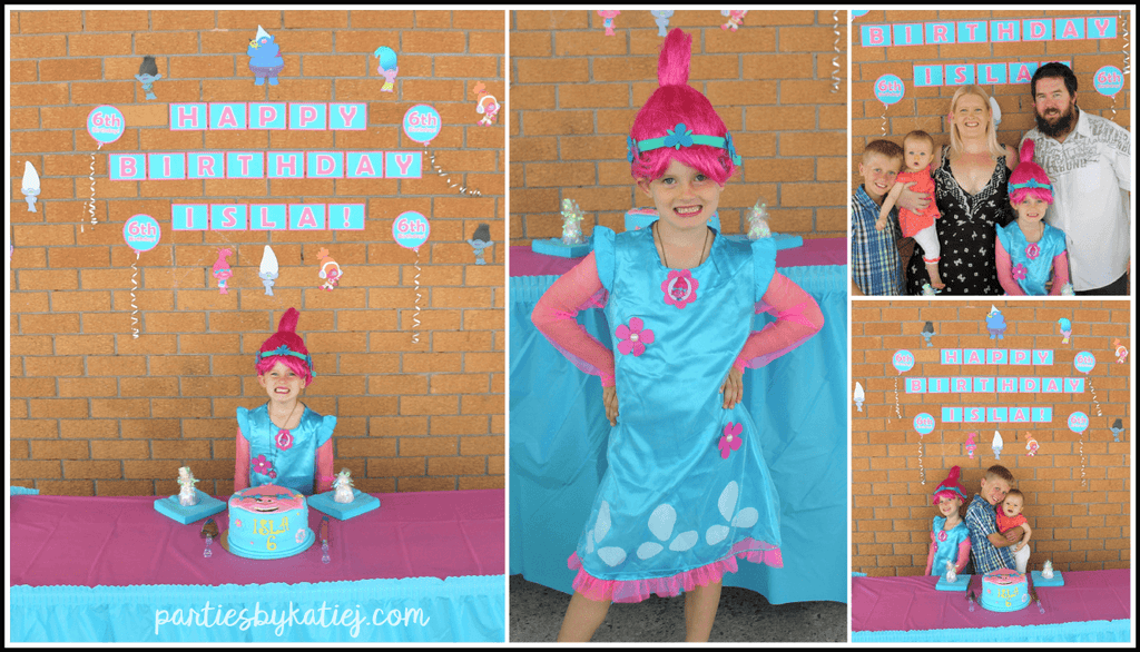 Trolls Party Costume Oufit Photos