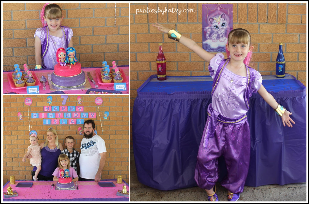 Shimmer and Shine Birthday Party Ideas Photos