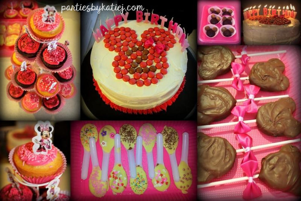 Minnie Mouse Party Food Sweets Ideas inspo