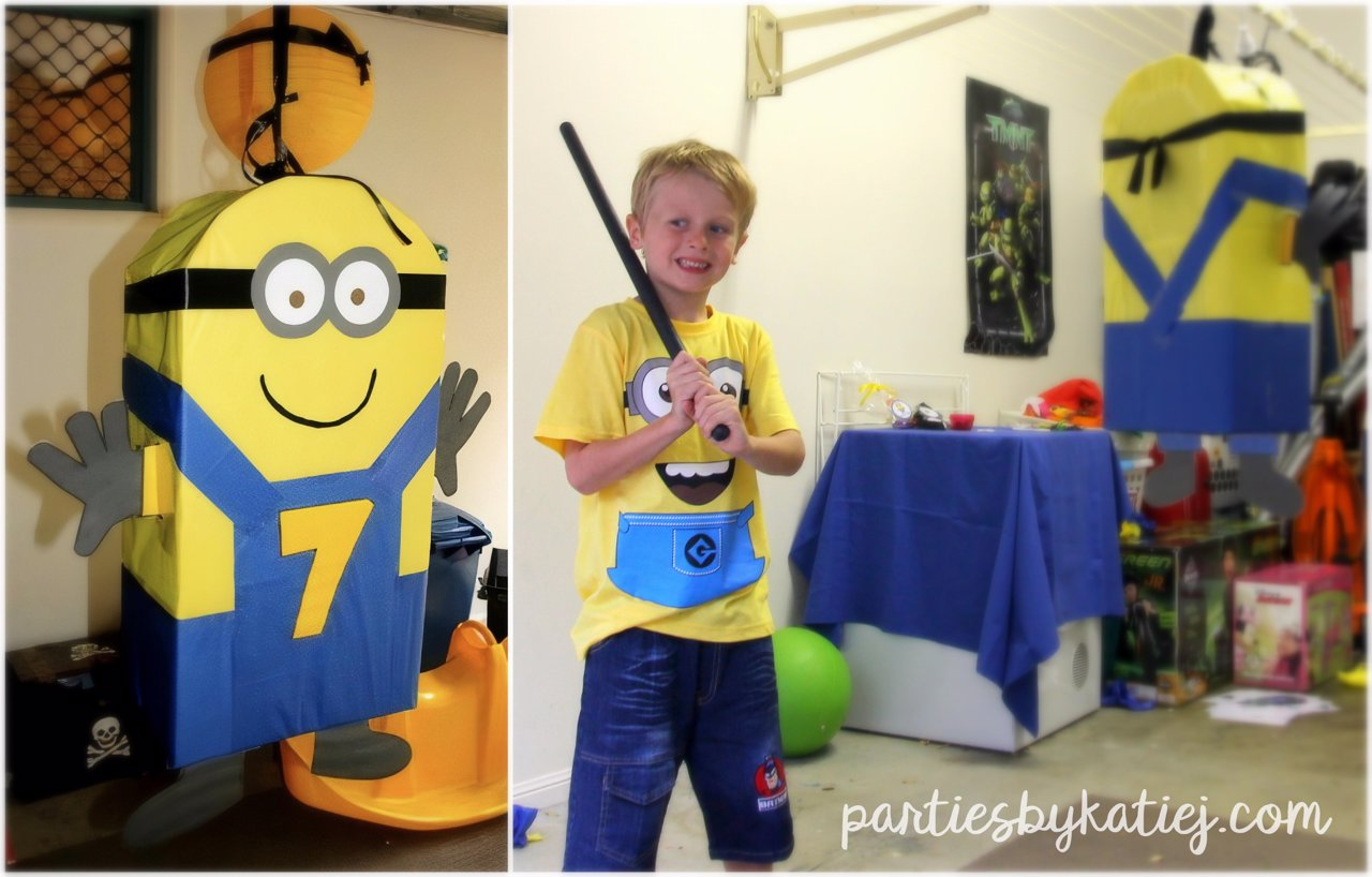 Fun Kids Minions Party Games Printables Photos Ideas