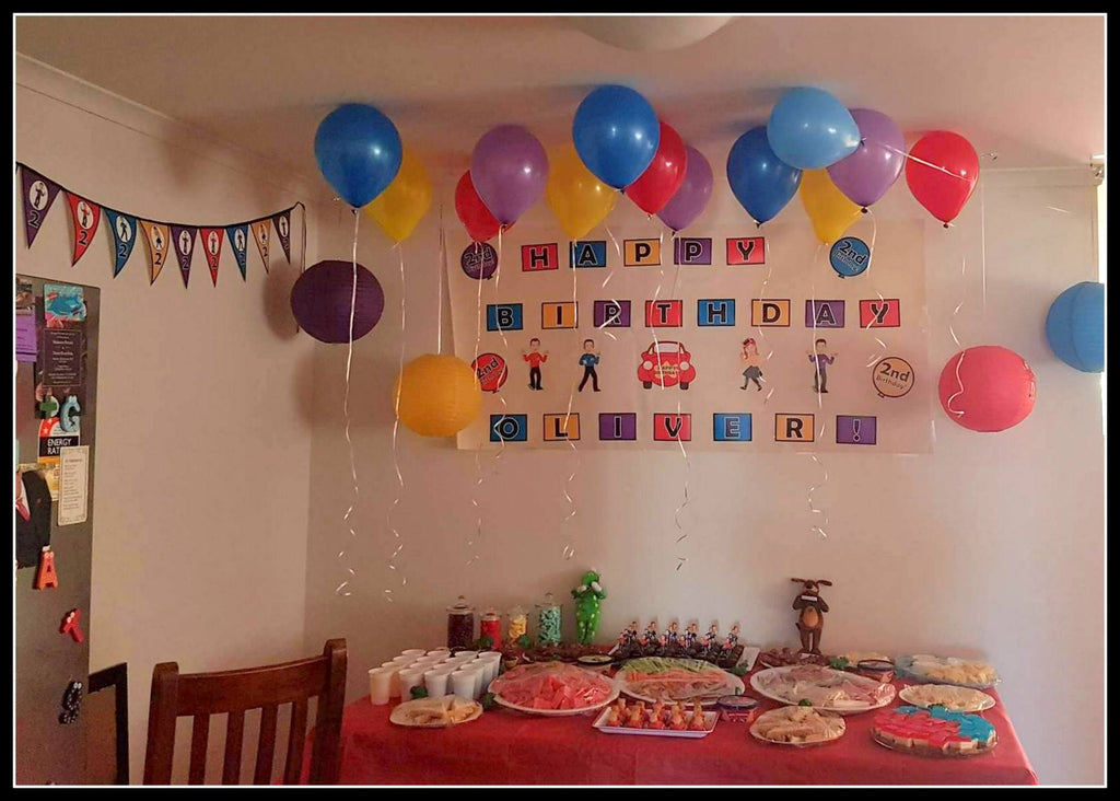 Wiggles Party Decorations