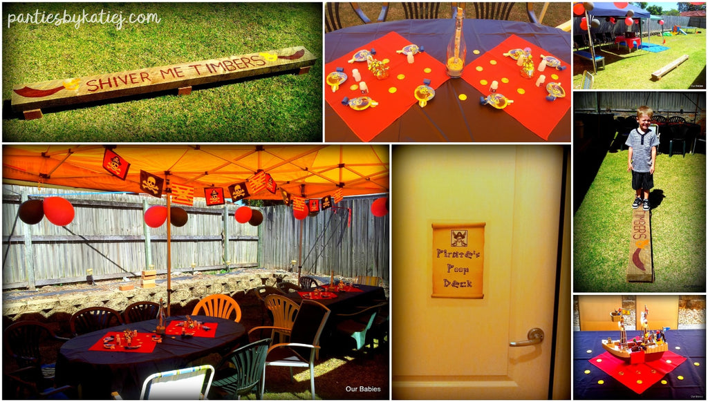 Pirate Party Area Setup photos ideas