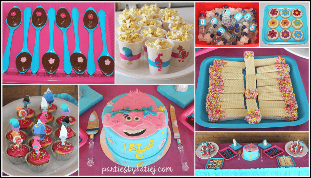 Trolls Party Food Ideas Photos