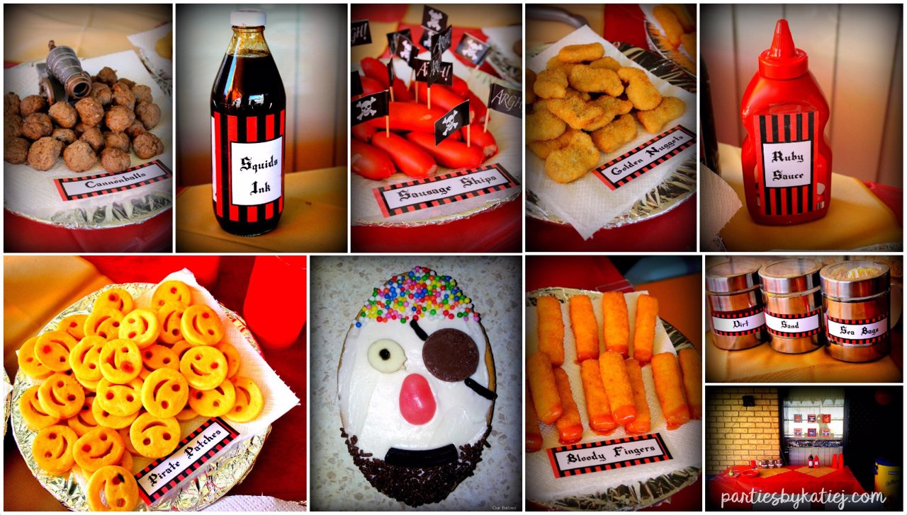Pirate Party Food Ideas Photos