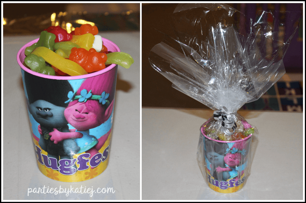 Trolls Birthday Party Prizes Favours