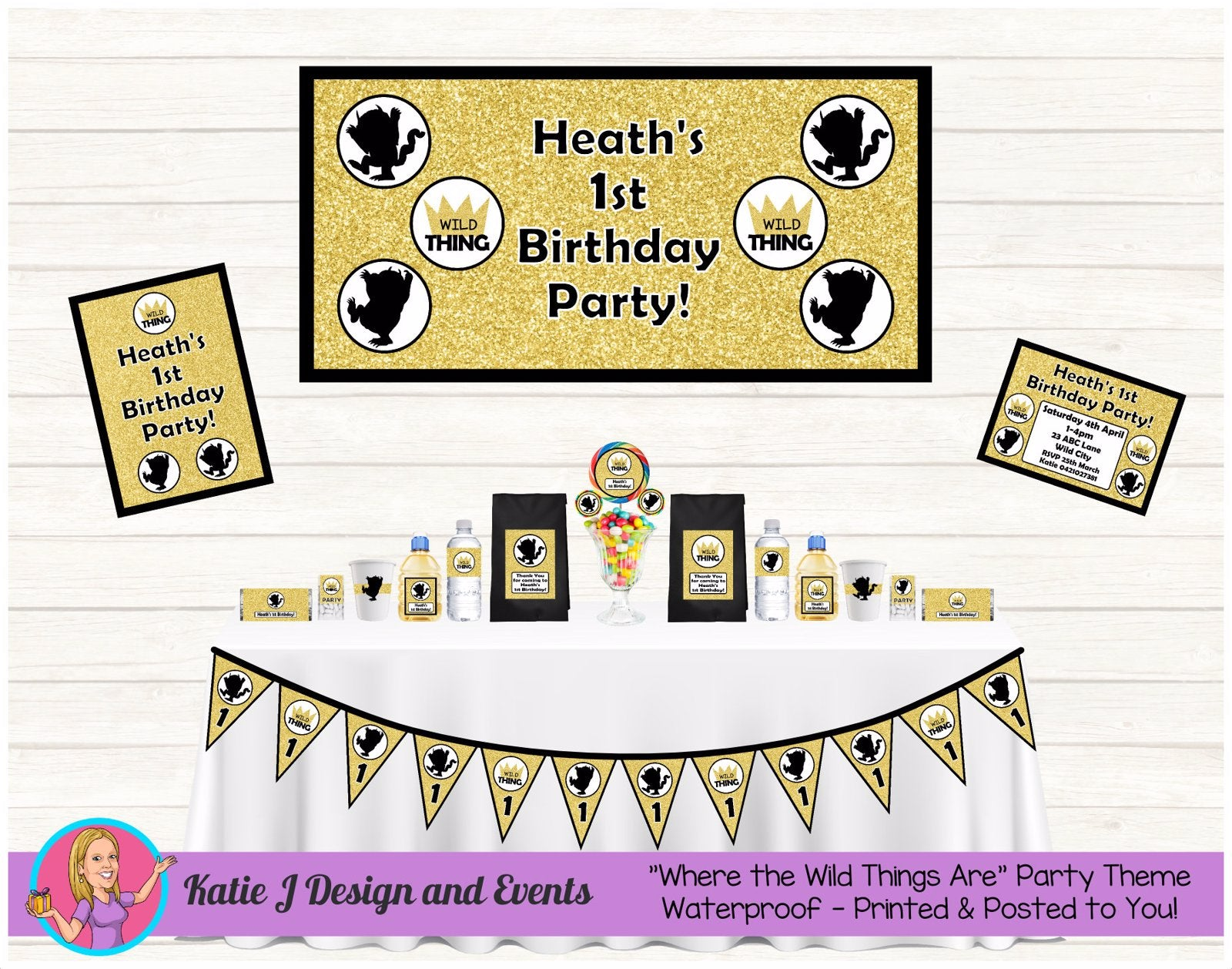 Where the Wild Things Are Party Decorations Supplies Ideas