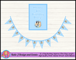 Bluey Personalised Birthday Party Bunting Poster Combo