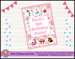 Bluey Personalised Birthday Party Poster