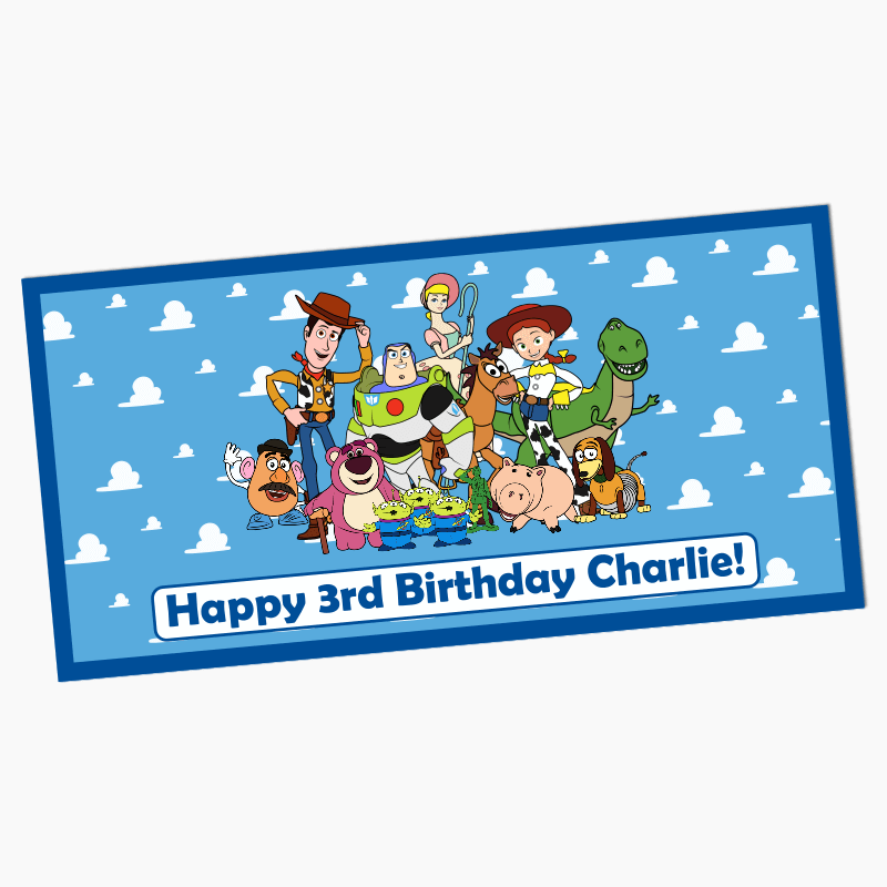 Personalised Toy Story Birthday Party Banners