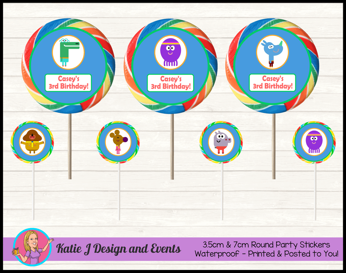 Boys Hey Duggee Birthday Party Decorations