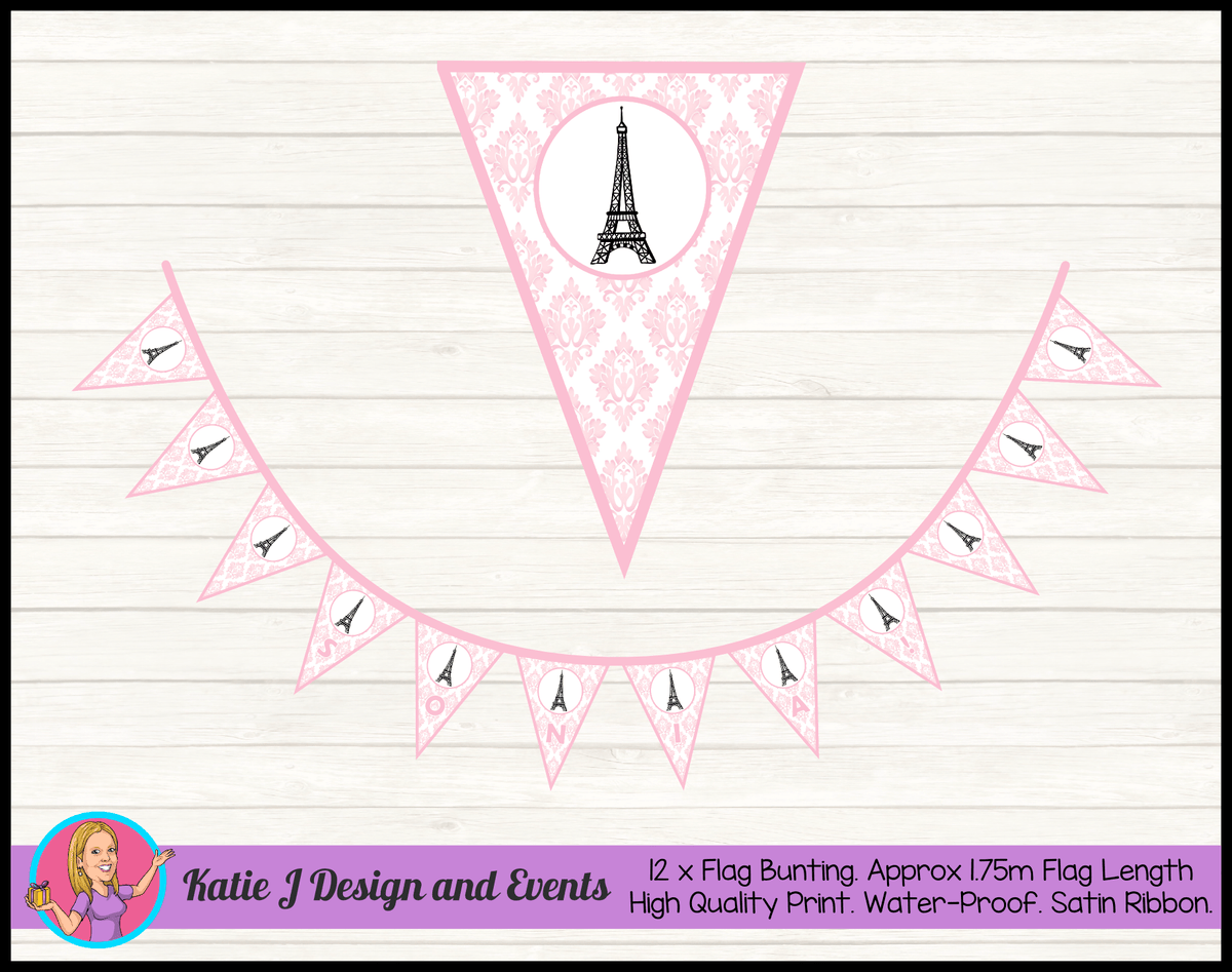 Eiffel Tower Birthday Party Decorations