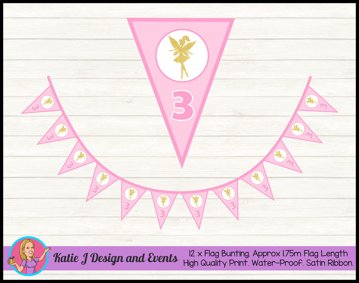 Fairy Birthday Party Decorations