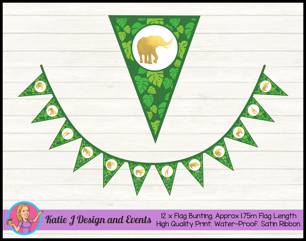 Jungle Animals Birthday Party Decorations