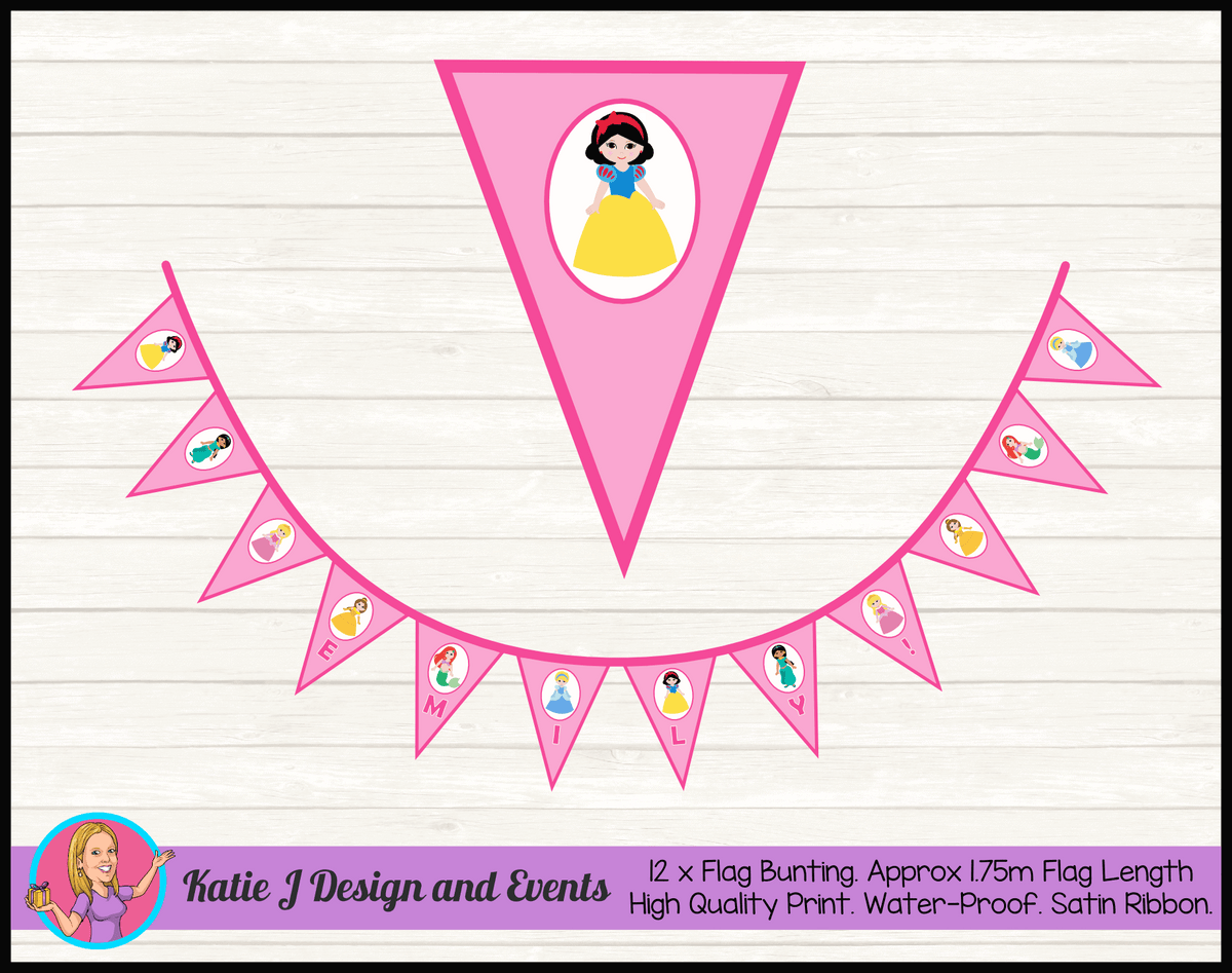 Little Disney Princess Party Decorations