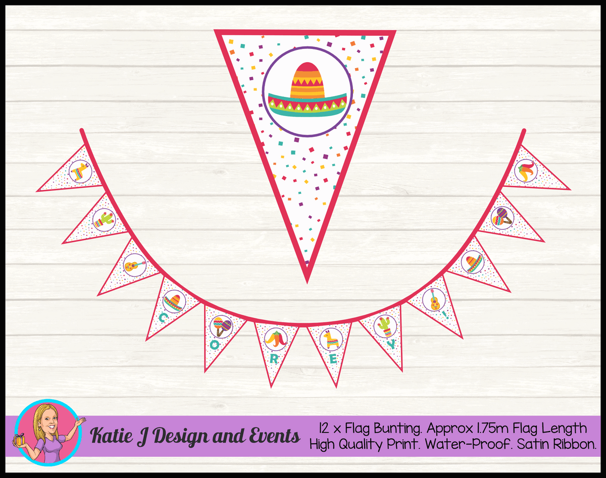 Mexican Fiesta Birthday Party Decorations