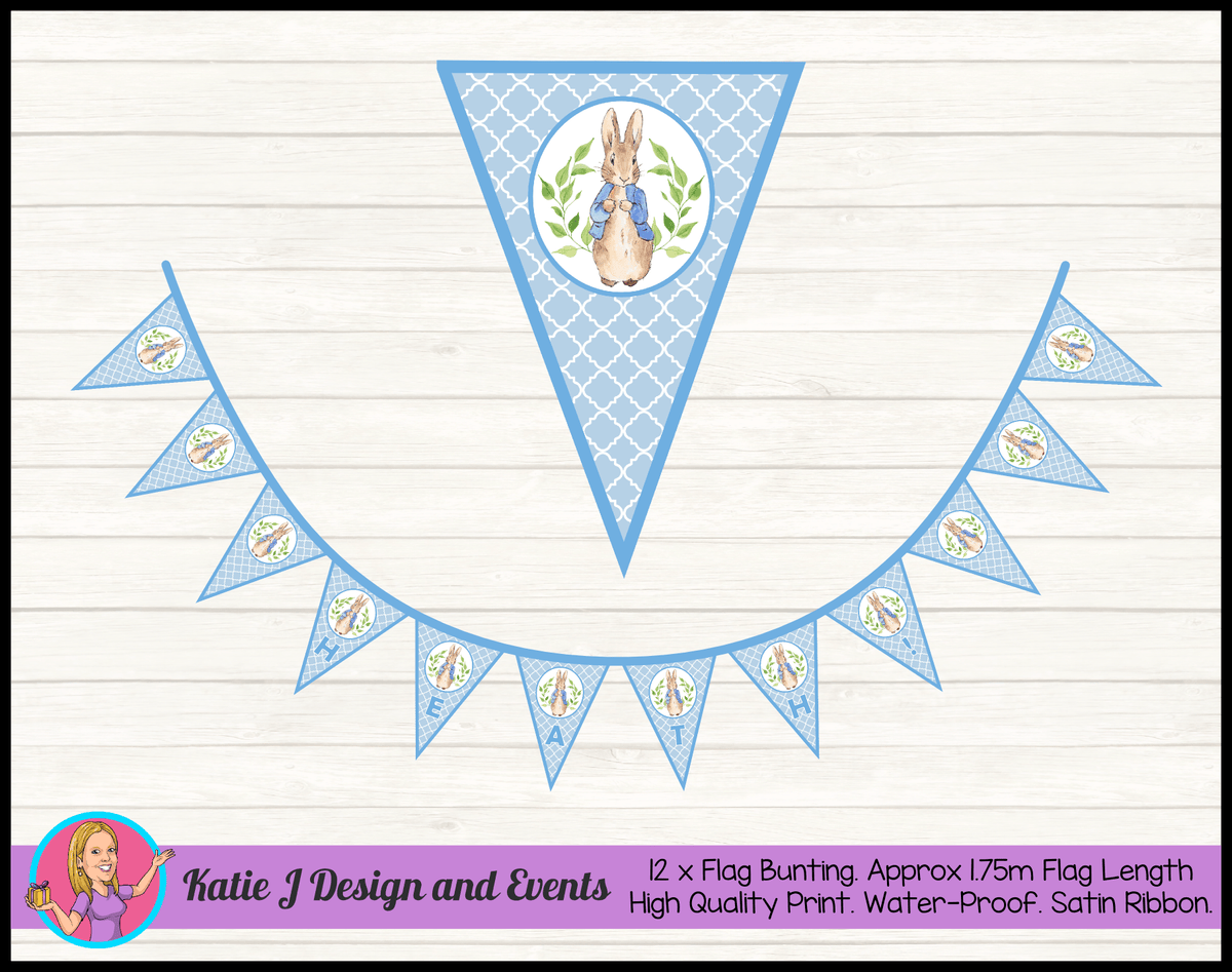 Peter Rabbit Naming Day Ceremony Decorations