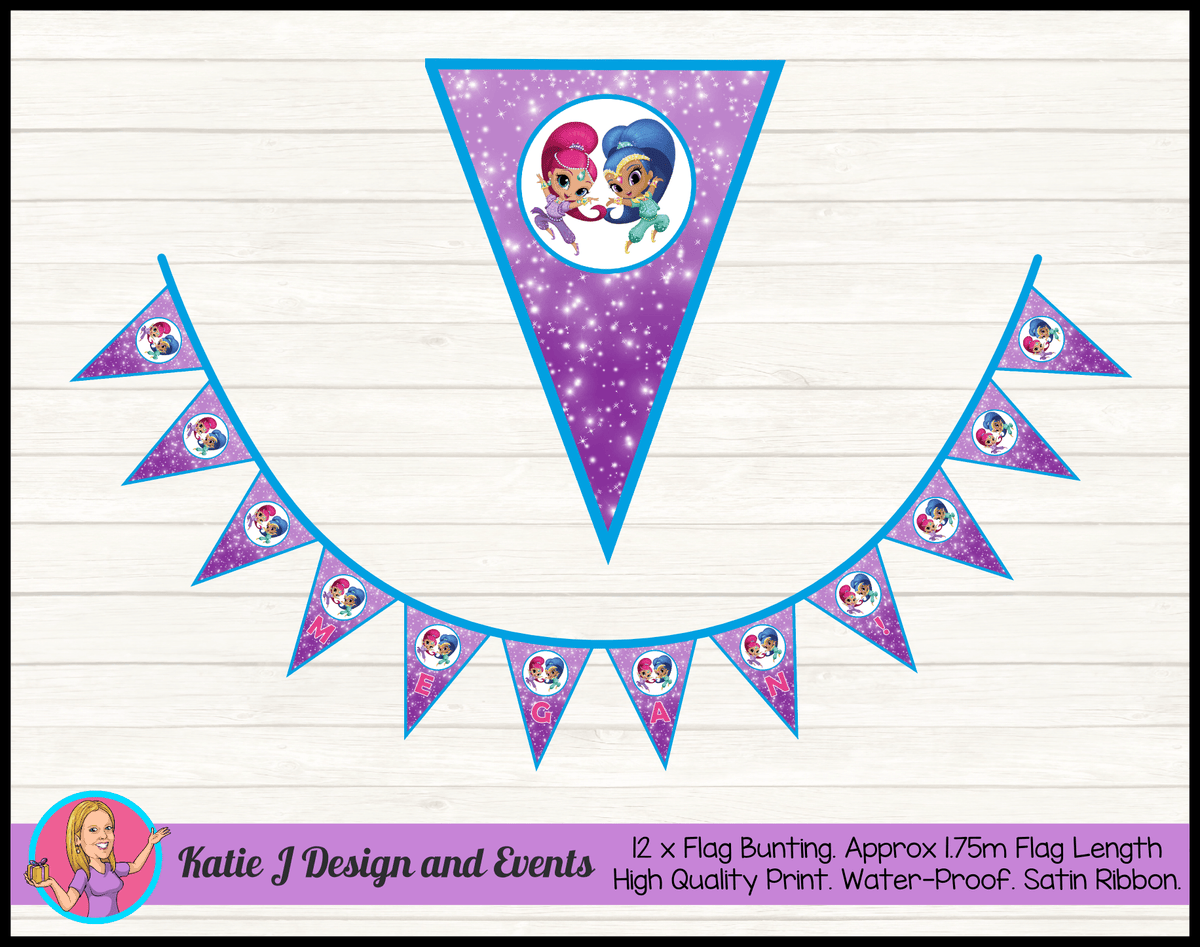 Shimmer & Shine Birthday Party Decorations