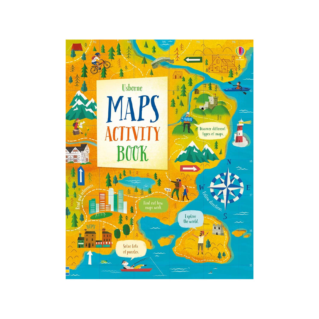 Maps Activity Book