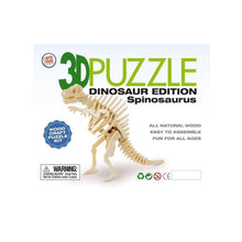 Load image into Gallery viewer, 3D Wooden Dinosaur Puzzle