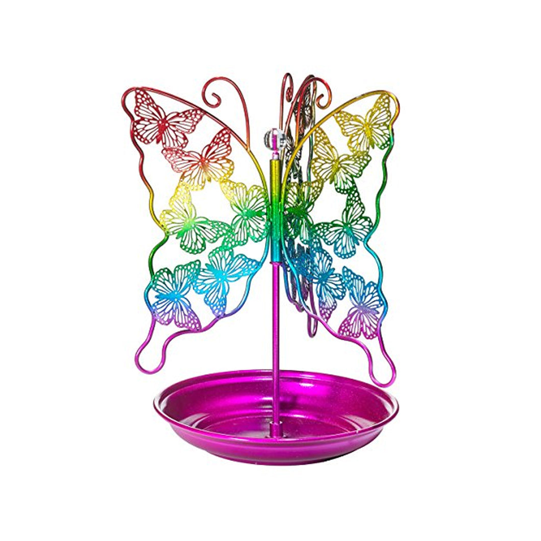 Spinning Butterfly Jewelry Holder