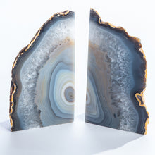 Load image into Gallery viewer, Agate Bookends