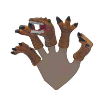 Load image into Gallery viewer, Dinosaur Finger Puppet Set