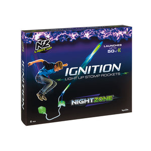 NightZone Ignition Light-Up Launch Rockets