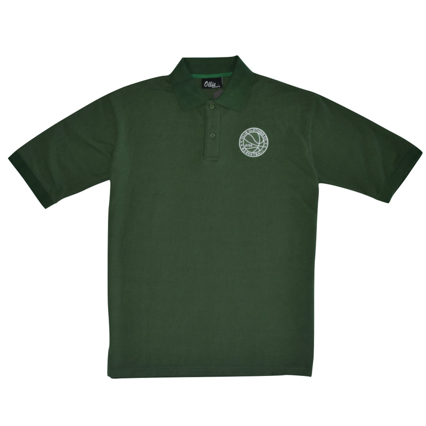 Coach's Polo - Forrest Green