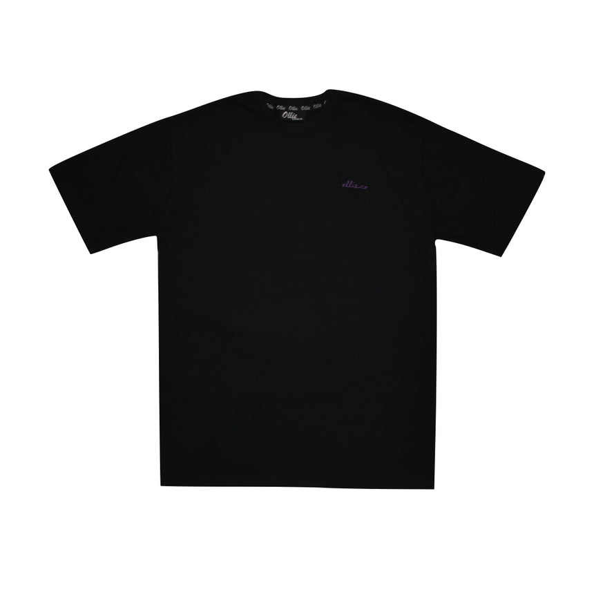 Black Signature Logo Tee