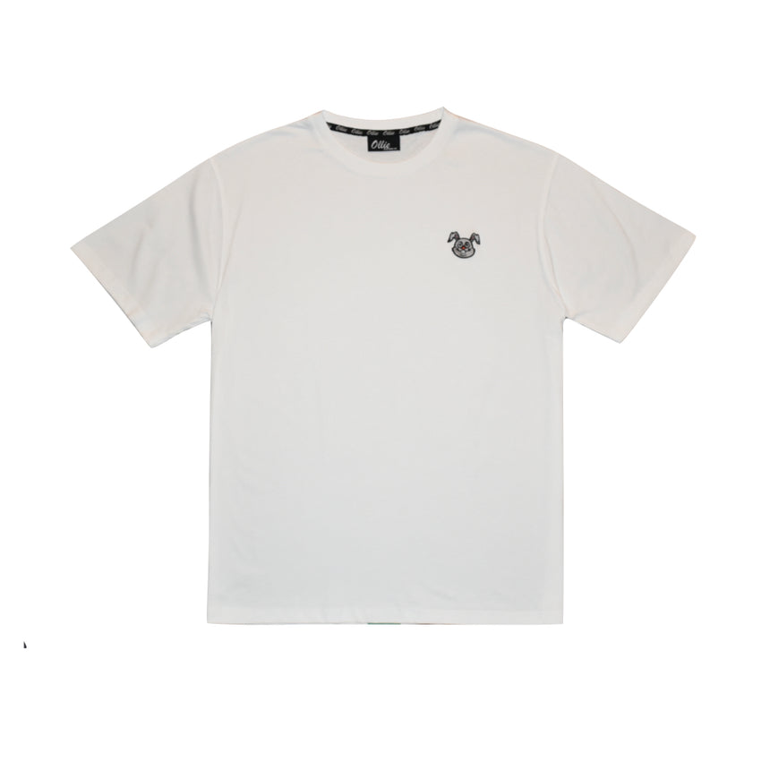 White Mr.Hops Tee
