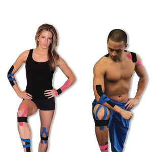 PTKines-BB Kinesiology Tape - Y & I Cut Strips