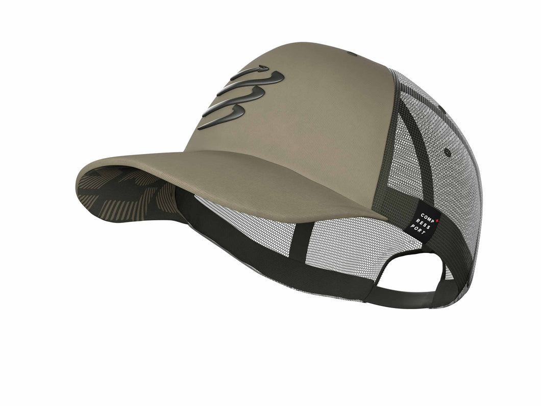 Trucker Cap - Camo Dusty Olive Edition