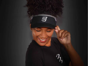 VISOR ULTRALIGHT FLASH - BLACK