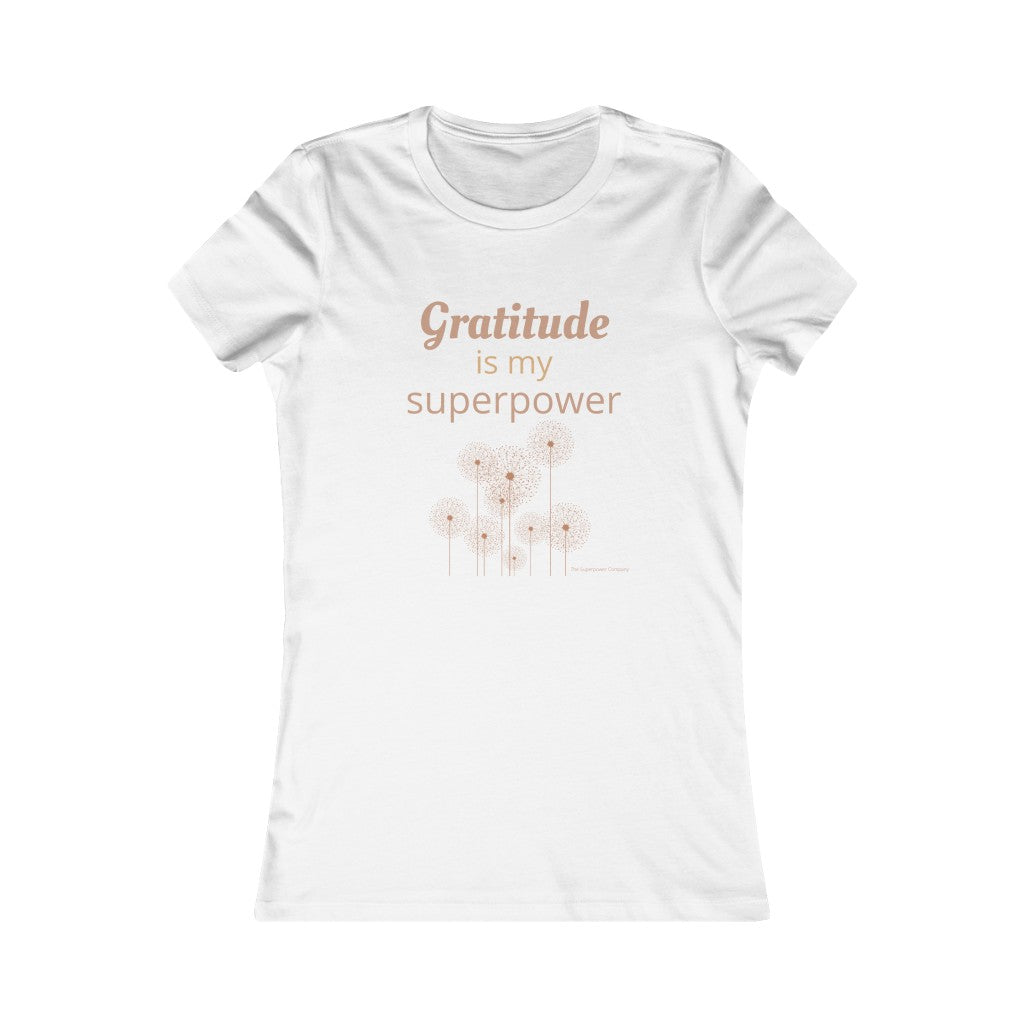 Gratitude Is My Superpower Tee