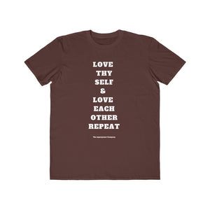 Love Thy Self & Love Each Other's Men's T-Shirt