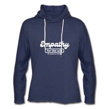 Load image into Gallery viewer, Empathy For The Win Lightweight Terry Hoodie - heather navy