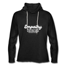 Load image into Gallery viewer, Empathy For The Win Lightweight Terry Hoodie - charcoal gray