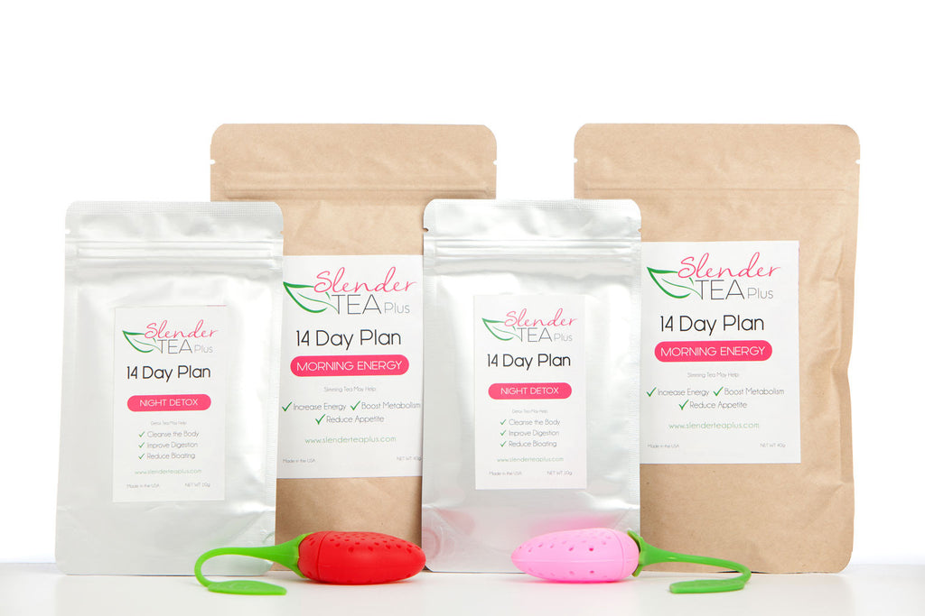 Mini-Bestie's Pack (14 x 2 Morning Energy & Night Detox Plan + 2 Tea Infusers)